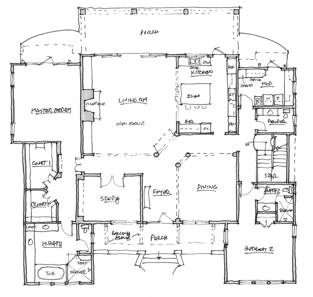 How to choose the right floor plan for your lifestyle Custom home blueprints