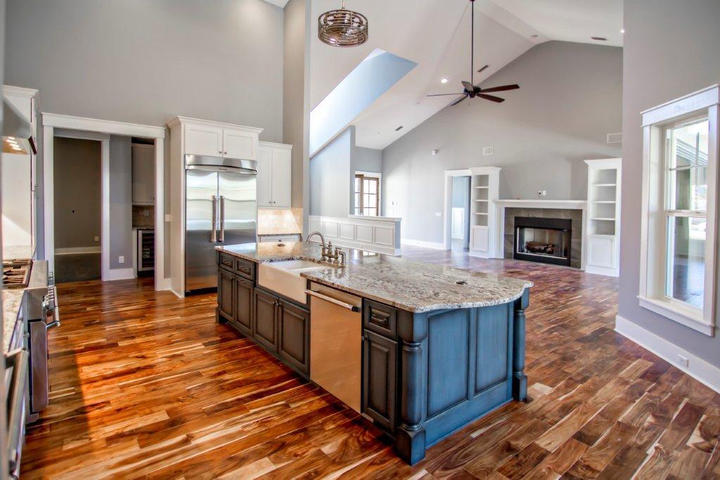 Creative Kitchen Island Designs | Glenn Layton Homes
