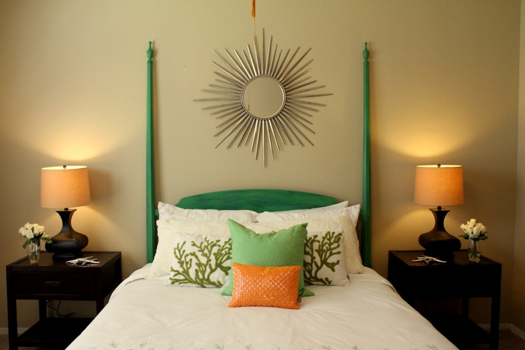 pillows add color in home staging coastal designs